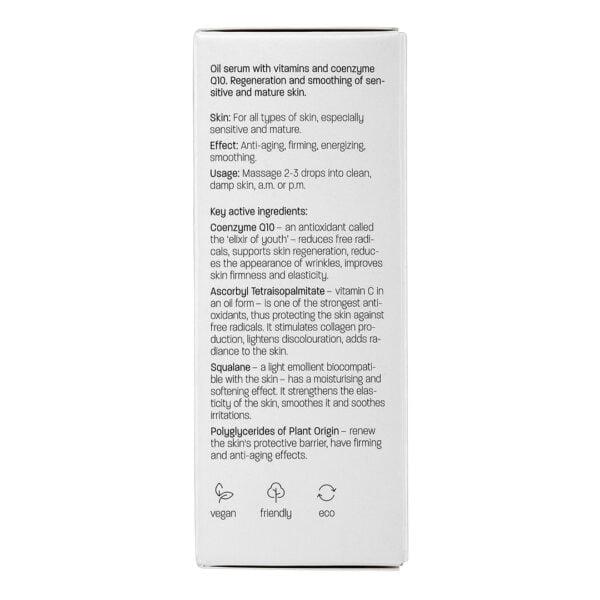 Face oil serum Q10 4