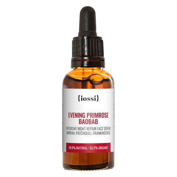 Intensive Night Repair Face Serum Evening Primrose and Baobab